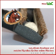 MisterVac Floor-nozzle Broom-nozzle Parquet-nozzle suitable Miele S 6360 Exclusiv Edition image 2