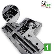 MisterVac Brosse de sol – brosse Turbo compatible avec Alaska VC 2000 image 2