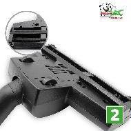 MisterVac Brosse de sol – brosse Turbo compatible avec Hanseatic Fresh 1800, JCV-1600 image 3