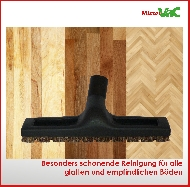 MisterVac Brosse de sol - brosse balai – brosse parquet compatibles avec Bosch BGS5SIL66 Relexx x ProSilence 66 image 3