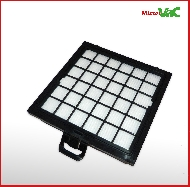 MisterVac Filtre compatible avec Privileg/Quelle megaclean 3 2200w image 2