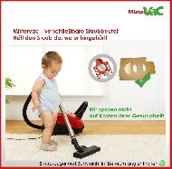 MisterVac 10x Dustbag suitable Siemens VBBS616V00 FD9105 image 3