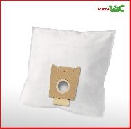 MisterVac 10x Dustbag suitable Siemens Super 690 electronic image 2