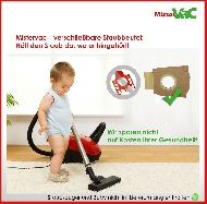 MisterVac 10x Dustbag suitable Siemens Super 911 l electronic,VS41153/02 image 3