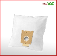 MisterVac 10x Dustbag suitable Siemens VSQ8SEN66/01 Q8.0 image 2