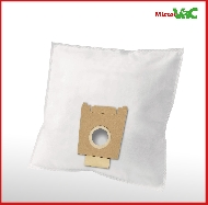 MisterVac 10x Dustbag suitable Siemens VS51121/05 Super 511 electronic image 2