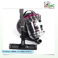 MisterVac Floor-nozzle Broom-nozzle Parquet-nozzle suitable dyson DC 37 image 2