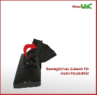MisterVac Brosse de sol réglable compatible avec Clatronic BS 1249 image 3
