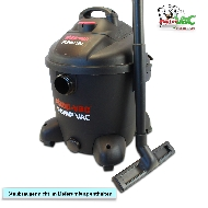 MisterVac Floor-nozzle Broom-nozzle Parquet-nozzle suitable Shop Vac Pump Vac 30 Nass-/Trockensauger 5870829 image 2