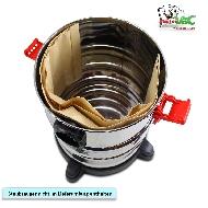 MisterVac 5x Dustbag suitable Hecht H8212 Nass/Trockensauger 1250 Watt image 2