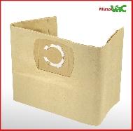 MisterVac 5x Dustbag suitable Hecht H8212 Nass/Trockensauger 1250 Watt image 3