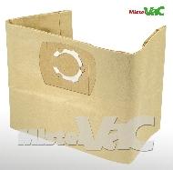 MisterVac 10x sacs aspirateur compatibles avec Kynast Exclusiv 20L 1300 Watt image 1