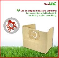 MisterVac 10x sacs aspirateur compatibles avec Kynast Exclusiv 20L 1300 Watt image 3