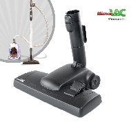 MisterVac Brosse de sol avec dispositif d'encliquetage compatible avec Siemens VSZ 42223/01 paquet specialist image 1