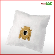 MisterVac 10x Dustbag suitable Miele Allergy Hepa image 2