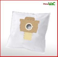 MisterVac 10x sacs aspirateur compatibles avec Rowenta RO 4136 Artec 2 Serie image 2