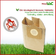 MisterVac 10x Dustbag suitable Aqua Vac Domestica 960 image 2