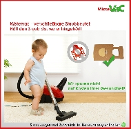 MisterVac 10x sacs aspirateur compatibles avec EIO Villa Premium 2200 image 3