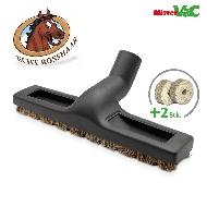 MisterVac Brosse de sol - brosse balai – brosse parquet compatibles avec Moulinex Compact 1350 electronic Typ W4 image 3
