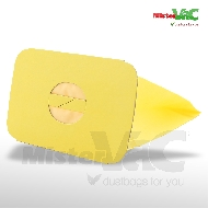 MisterVac 10x Dustbag + Hygienefilter suitable Electrolux-Lux D710 image 2