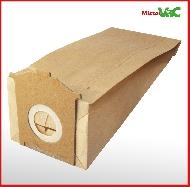 MisterVac 10x Dustbag suitable Siemens Converto VR4 E 1522,VR4 E 1830,VR4 E 1890 image 3