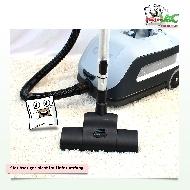 MisterVac Brosse de sol – brosse Turbo compatible avec Nilfisk VP 600 image 2