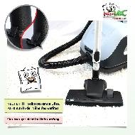 MisterVac Brosse de sol avec dispositif d'encliquetage compatible avec Nilfisk VP 600 image 2