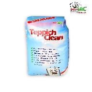 MisterVac 1x 2kg TeppichClean Teppich Reinigungspulver + Microfasertuch und FleckWeg image 3