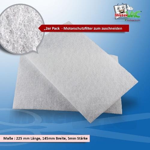 20 x Staubsaugerbeutel geeignet für Dirt Devil DD7375-1 CAPOERA 1.1