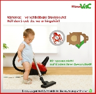 MisterVac Dustbag kompatibel mit Miele Greenstar: S4211 image 3