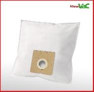 MisterVac sacs à poussière kompatibel avec Dirt Devil M 7015 Swiffy image 2