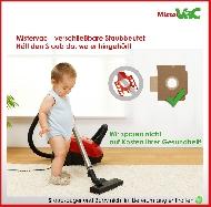 MisterVac sacs à poussière kompatibel avec Rowenta Original: ZR 76 image 3