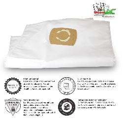 10x Staubsaugerbeutel Prof. geeignet für Kärcher MV 4 Mehrzwecksauger Detailbild 1