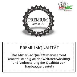 10x Staubsaugerbeutel Prof. geeignet für Kärcher MV 4 Mehrzwecksauger Detailbild 3