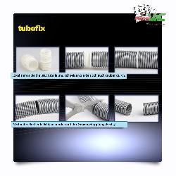 TubeFix Reparaturset passend geeignet für Ihren Dirt Devil Rebel DD 7070-3 Schlauch Detailbild 2