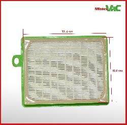 Filter geeignet für AEG VX6-2-IW-5 Detailbild 3