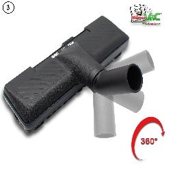 Automatikdüse- Bodendüse geeignet für Hoover SL71_SL60 011 700W Detailbild 2