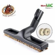 MisterVac Brosse de sol - brosse balai – brosse parquet compatibles avec Siemens VS06T212 synchropower image 1