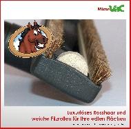 MisterVac Brosse de sol - brosse balai – brosse parquet compatibles avec Siemens VS06T212 synchropower image 2