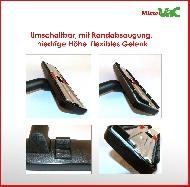 MisterVac Brosse de sol réglable compatible avec Siemens VS06T212 synchropower image 2