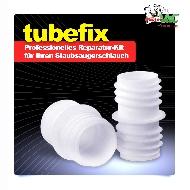 MisterVac Raccord TubeFix - set de réparation compatible avec Siemens VS06T212 synchropower tube image 2