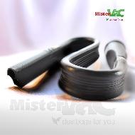 MisterVac 1x suceur plat flexible compatible avec AEG VX4 1-WR A EFFICIENCY image 2