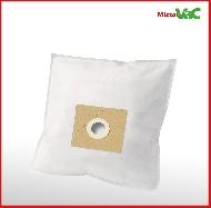 MisterVac 20x sacs aspirateurs compatibles avec Dirt Devil DD 3274 BG74-Black image 2