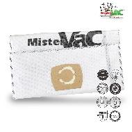 MisterVac 5x sacs aspirateur SCM/GCL compatibles avec KRESS Ntx 1200 EA SCM image 1