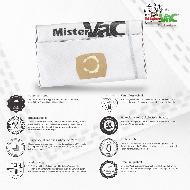 MisterVac 5x sacs aspirateur SCM/GCL compatibles avec KRESS Ntx 1200 EA SCM image 2