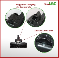 Bodendüse Turbodüse Turbobürste geeignet für Hilti VC 5-A22 Detailbild 3