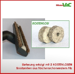 Bodendüse Besendüse Parkettdüse geeignet für Kärcher 1.378-600.0 NT 22/1 Detailbild 2