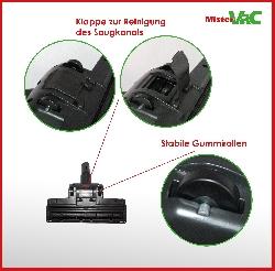 Bodendüse Turbodüse Turbobürste geeignet für Hanseatic VC-T4020E-1 Detailbild 3