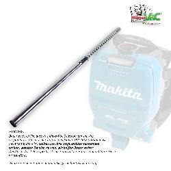 Teleskop-Staubsaugerrohr geeignet für Makita DVC260Z Detailbild 3