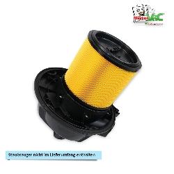 Lamellenfilter geeignet für Parkside PNTS 1300 E4 Detailbild 3